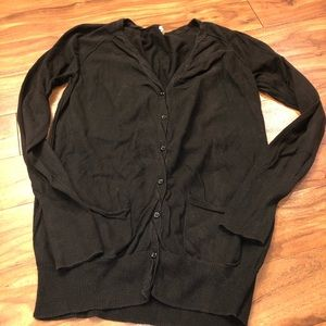 J. Crew cardigan small black